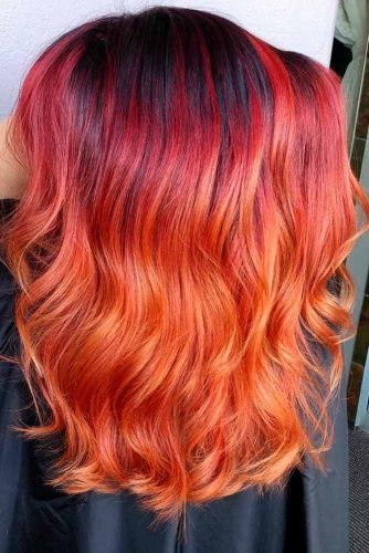 Red Ombre for Natural Redheads