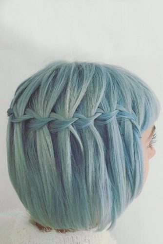 Bright Short Braided Hair picture1