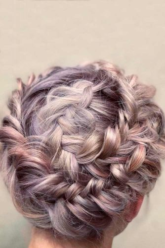 Half-Up Braided Crown picture 1