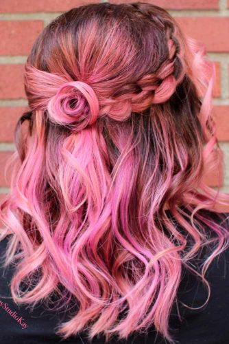 Bright Short Braided Hair picture2