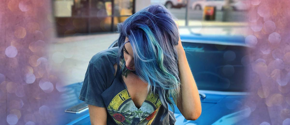 37 Wedding Hairstyles For Black Women To Drool Over 2017: 21 Trendy Styles For Blue Ombre Hair