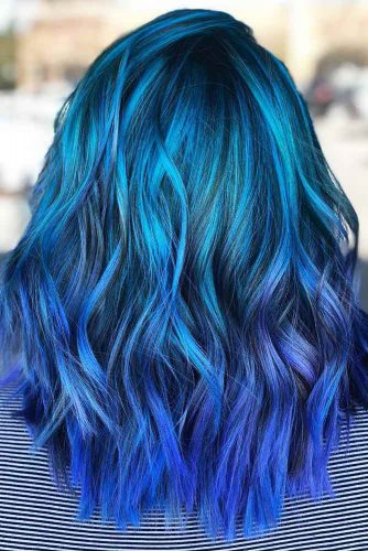 Sea Nymph Blue #bluehair #ombre
