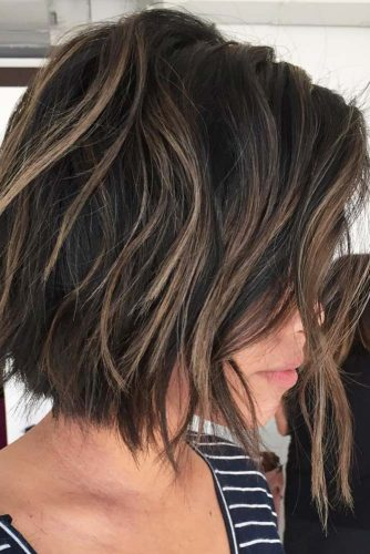 Layers with Twisted Balayage