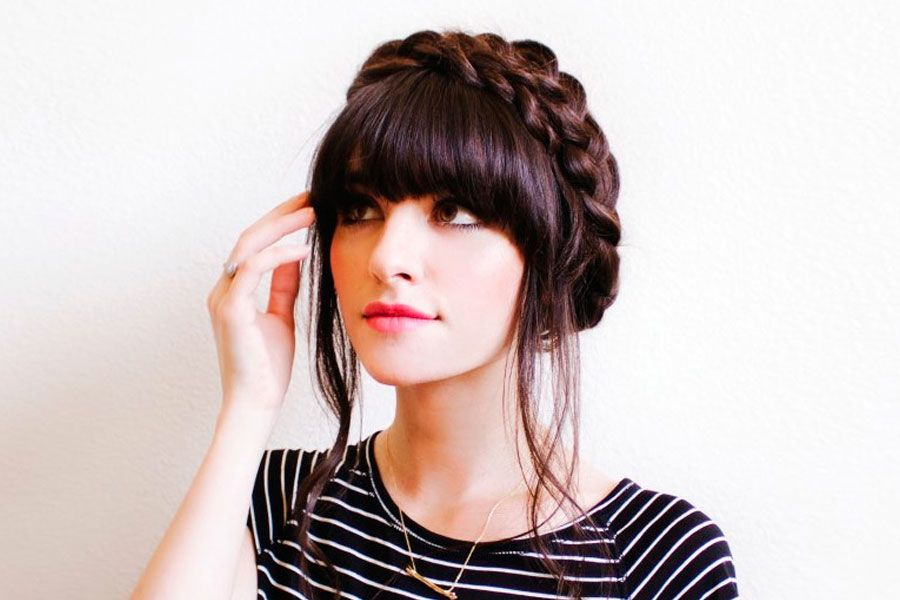 Fantastic 36 Cute Medium Length Hairstyles With Bangs Lovehairstyles Schematic Wiring Diagrams Amerangerunnerswayorg