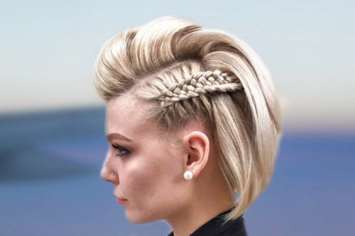 Simple Braids For Short Hair To Look Dazzling