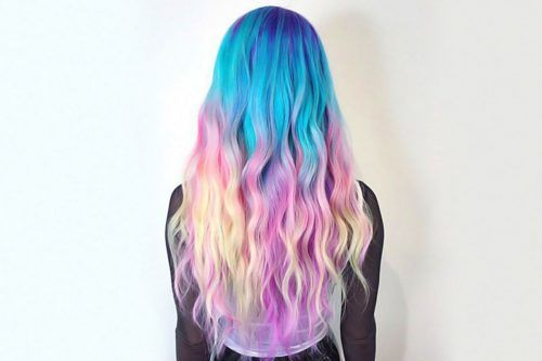 33 Blue Ombre Hair Styles For Daring Women