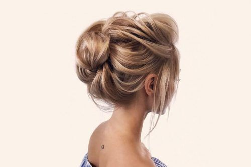 Trendy Updo Hairstyles For Medium Length Hair