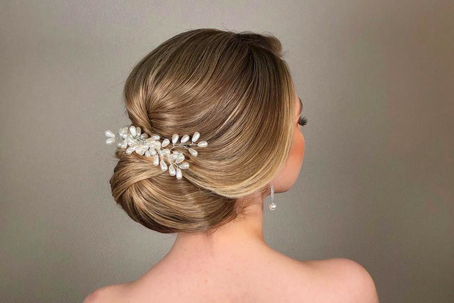 Gorgeous Wedding Hairstyles for Medium Lenght Hair