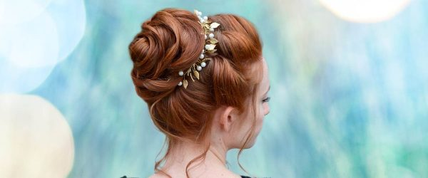 15 Trendy Updo Hairstyles for Medium Length Hair