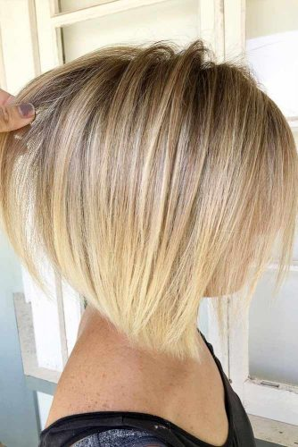 Choose Ombre Or Balayage For Your Short Hair Bob Haircut #shorthair #shorthairideas #bobhaircut #hairstyles #blondebalayage