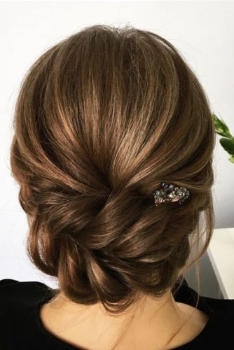 Beautiful Wedding Hairstyles for Medium Hair picture1