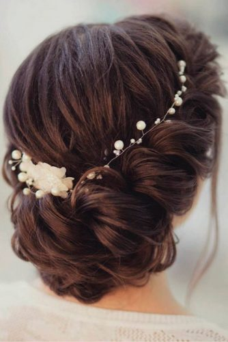 Amazing Hairstyles for Brides with Medium Hair picture2