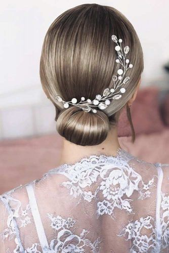 Wedding Hairstyles With Accessories #mediumhair