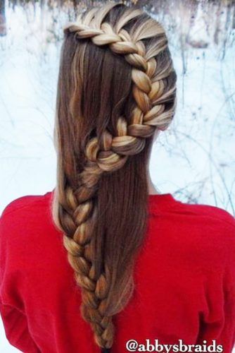Specially Snake Braid Hairstyles picture 3
