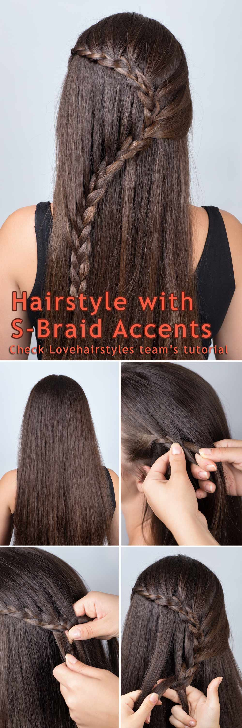 S-Braid Half-Up – A Braiding Tutorial