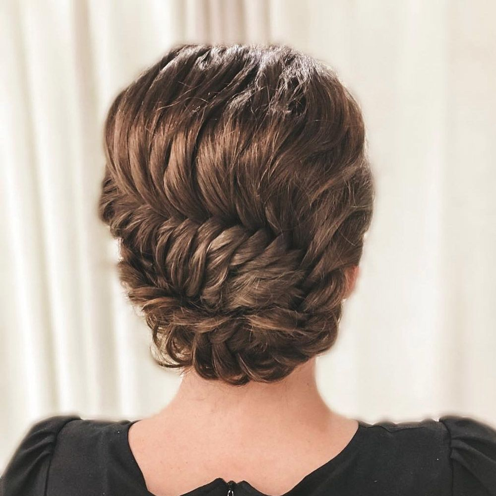 Braid Updo For Long Hair