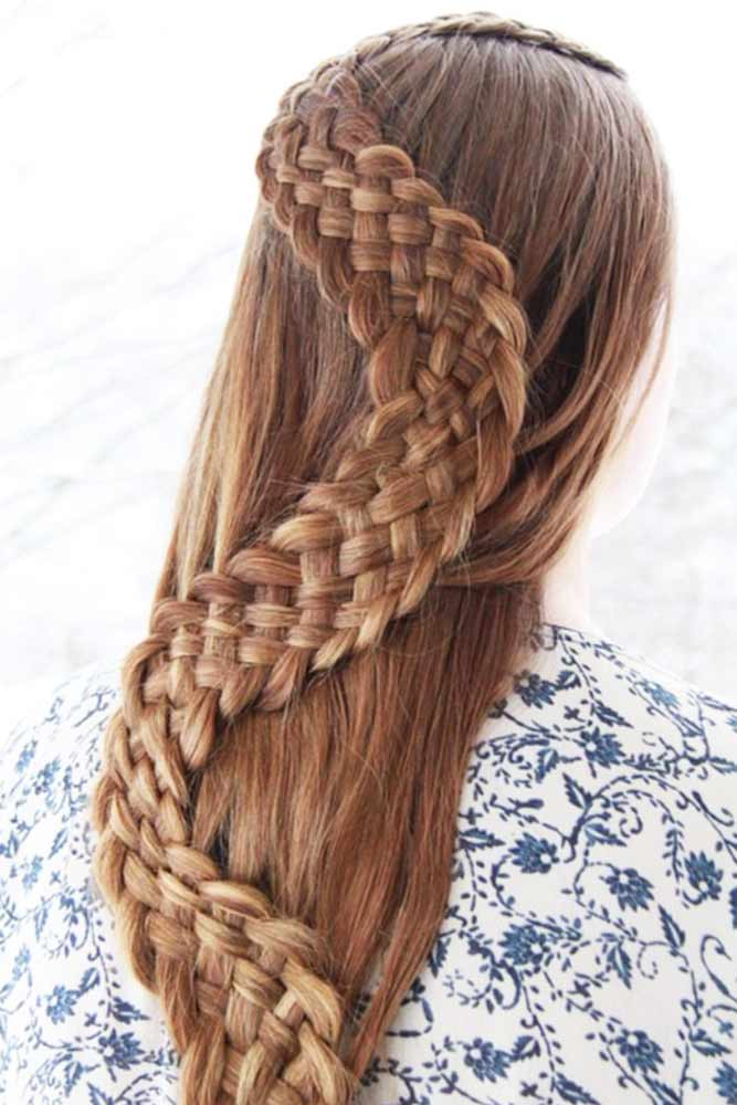 Waterfall and Snake Stylish Braids picture 1