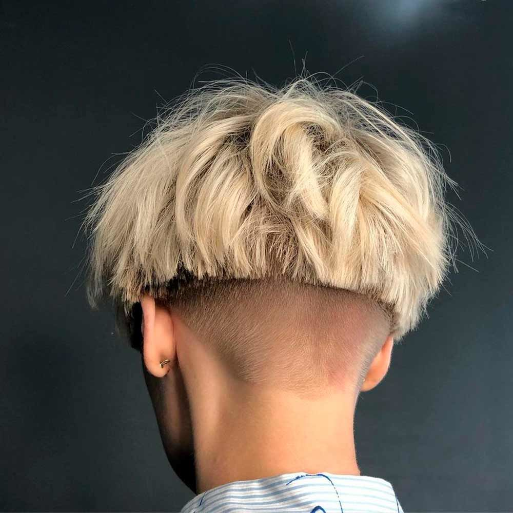 Edgy Bowl With Undercut