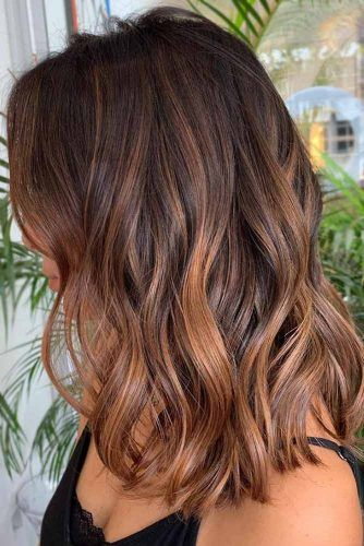 Chestnut Brown Ombre #brunette