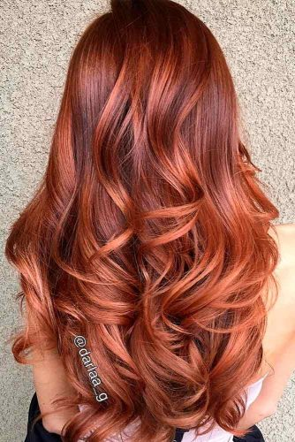 Bright Copper Curls