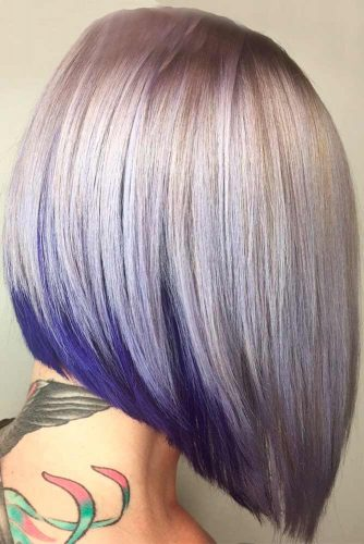 Cold Light Violet Dirty Blonde