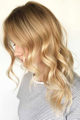Wavy Natural Dirty Blonde Hair #wavyhair #blondehair #brunette