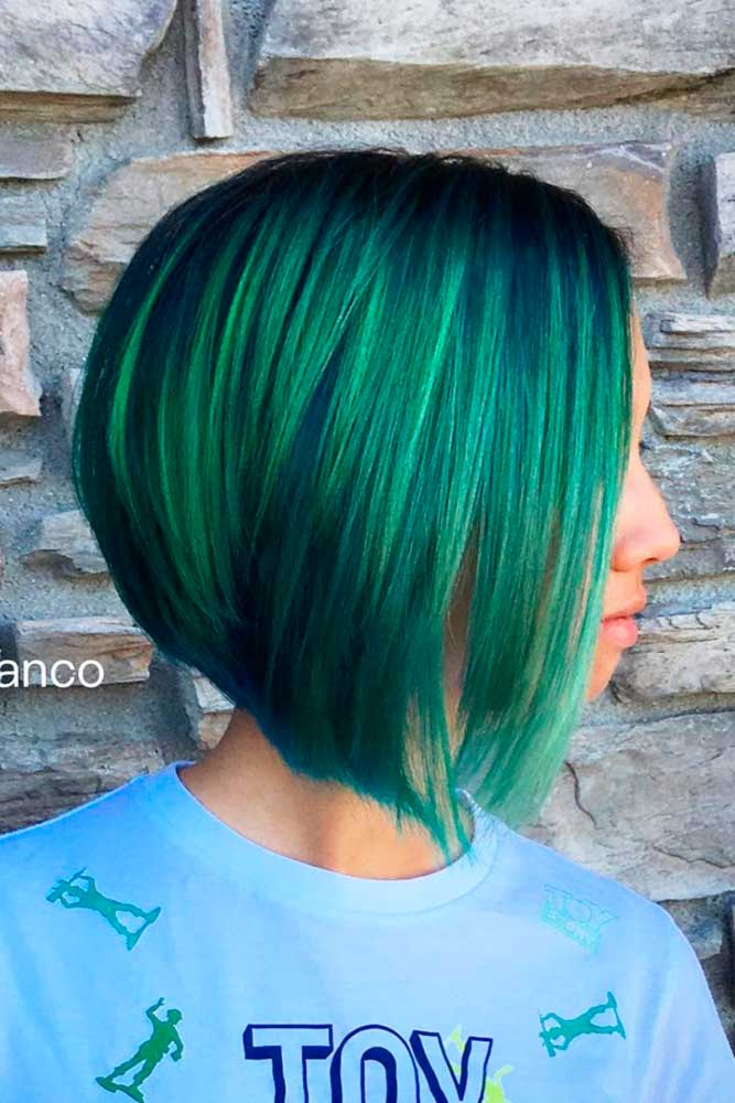 Inspirational Green Ombre Hair picture3