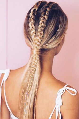 Romantic Braided Ponytails picture 3