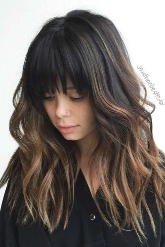 Hollywood Looks with Stylish Bangs picture 2