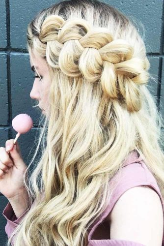 Perfect Braided Bangs picture 2
