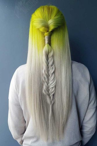 Lemon to Blonde Ombre