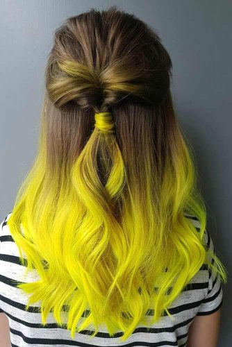 Electric Banana Ombre