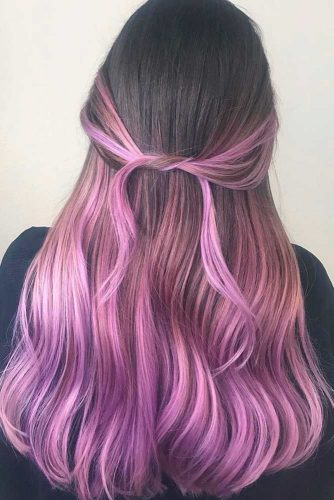Pastel Purple Ombre