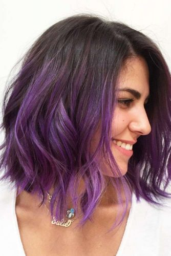 Orchid Ombre Waves