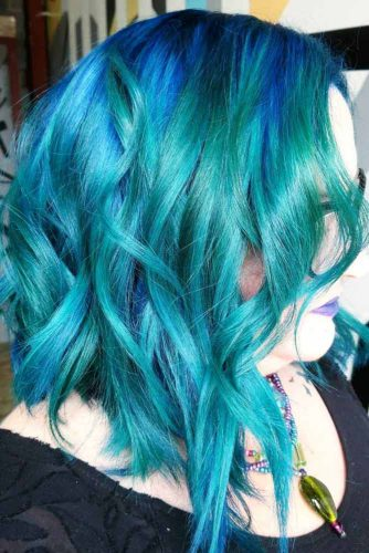 Magical Mermaid Wispy Bob