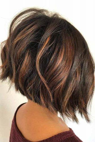 Dramatic Dark Brown Bob #ombre #brunette