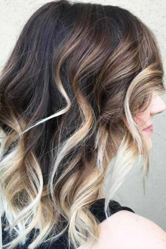 Chocolate and Blonde Ombre