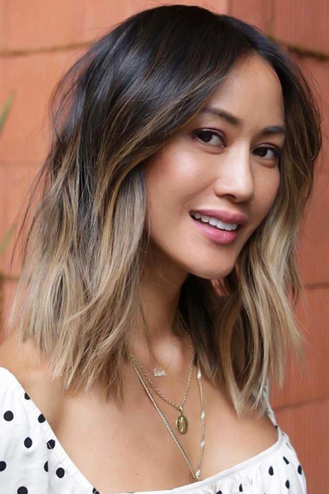 Dark Brown And Ash Blonde Ombre #ombre #hairstyles
