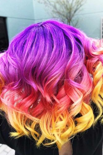 Multicolored Ombre