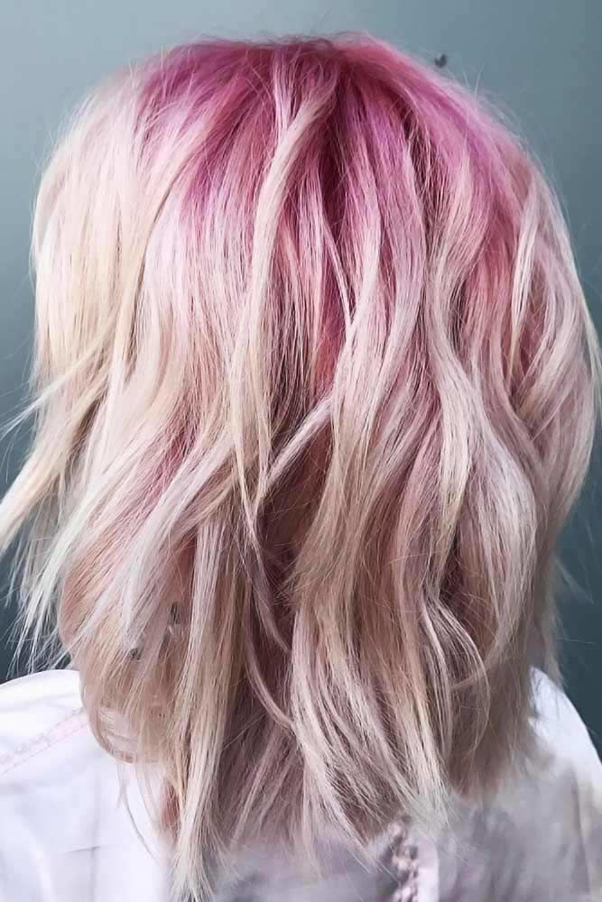 Pink & Ice #ombre #hairstyles