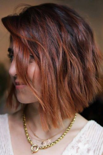 Reddish Brown Ombre #ombre #shorthair