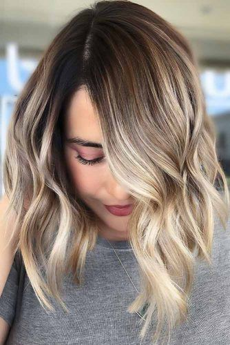 Shadowed Blonde #ombre #shorthair