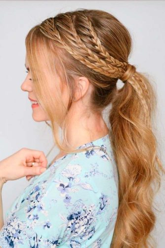 Simple and Beautiful Ponytail Hairstyles picture1