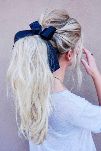 Beautiful and Elegant Ponytail Hairstyles picture2