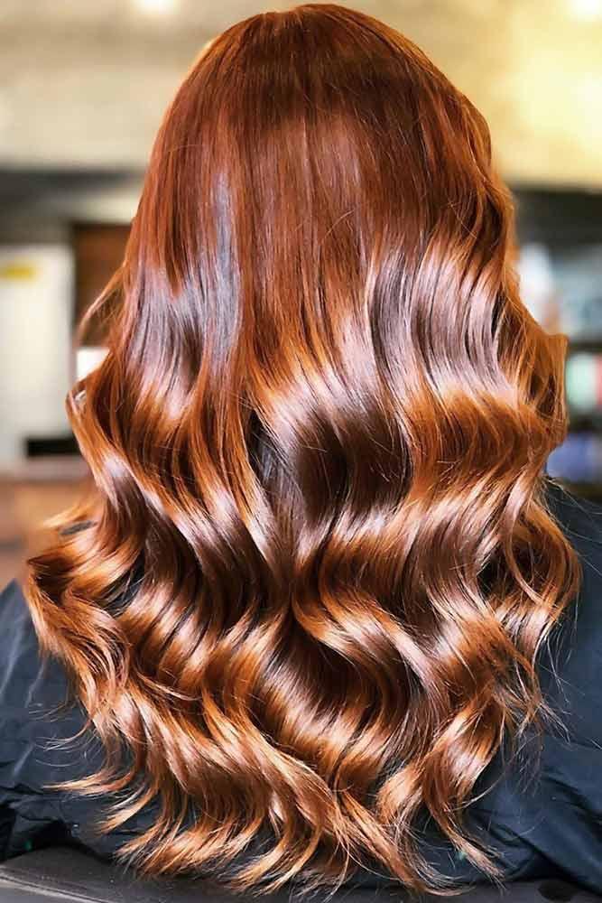 Amber Glaze #redhair