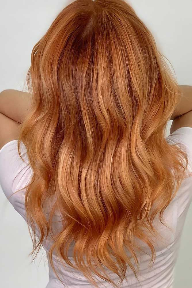 Coral Copper #redhair