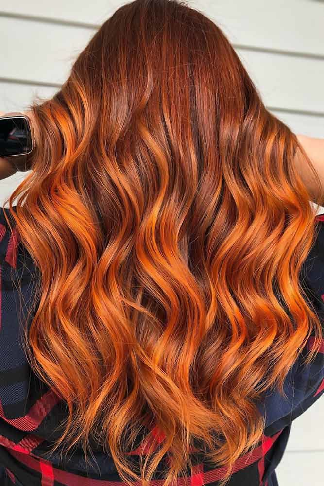 Intense Ombre #redhair