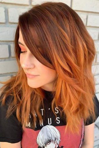Orangey Red Ombre Orangey Red Ombre #redhair