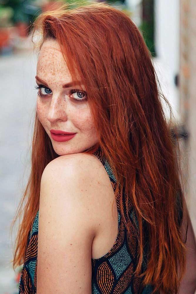 True Copper #redhair