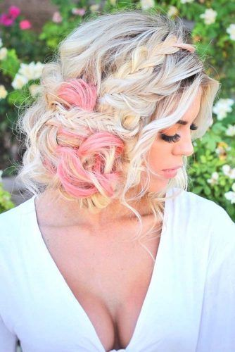 Braided Bardot #updo #braids